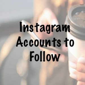 Instagrams accounts you should be following