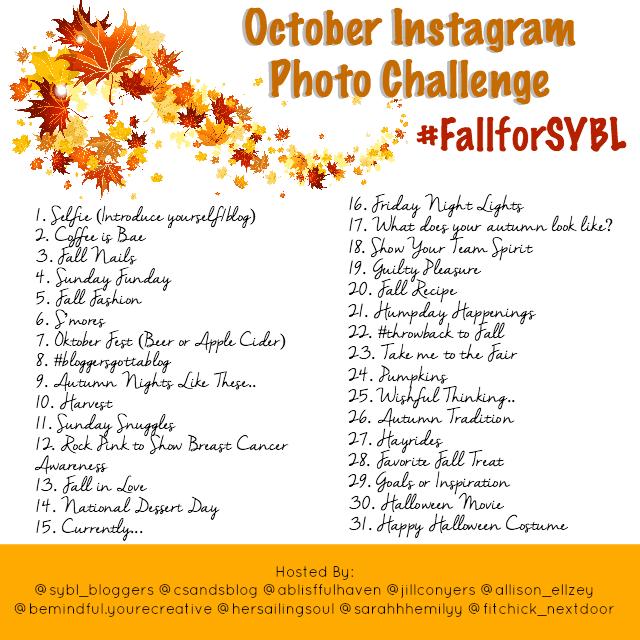 Fall Photo Instagram Challenge