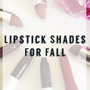 Lipstick Shades for Fall
