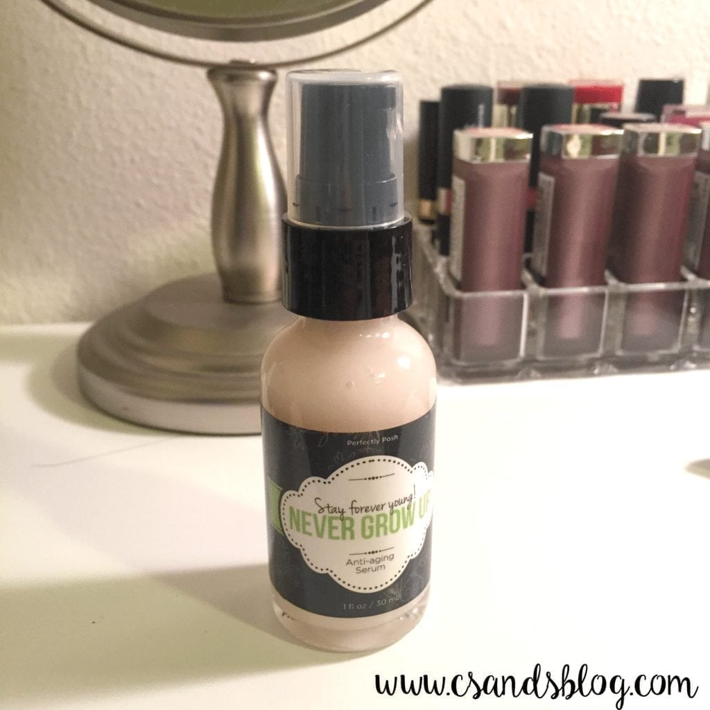 Perfectly Posh Never Grow Up Serum
