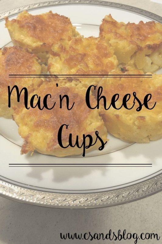 mac'n cheese cups