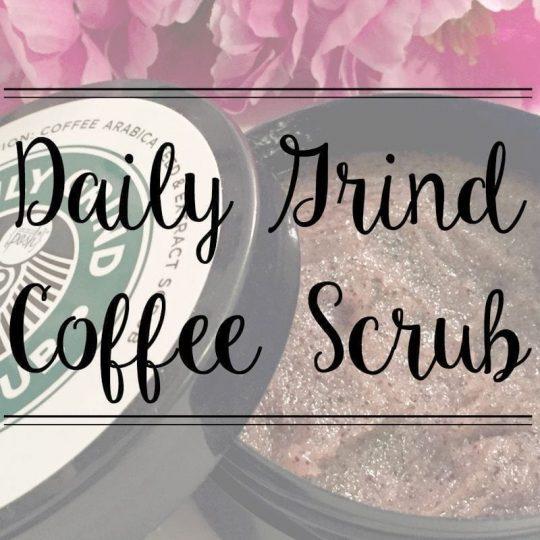The Daily Grind Coffee Scrub