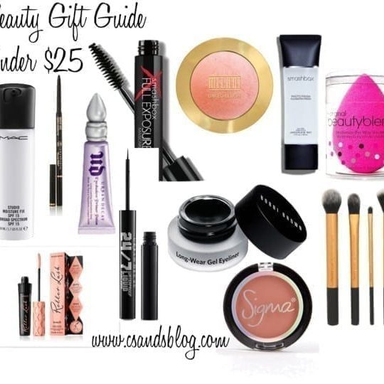 Beauty Gift Guide Under $25