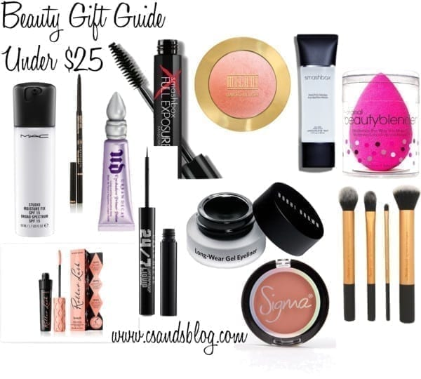 Christmas Beauty Gift Guide under $25