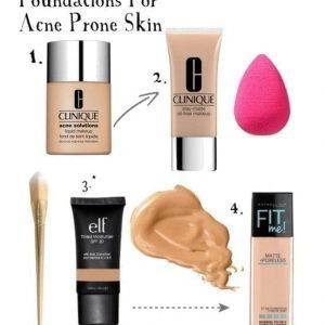 TOP 4 FOUNDATIONS FOR ACNE-PRONE SKIN