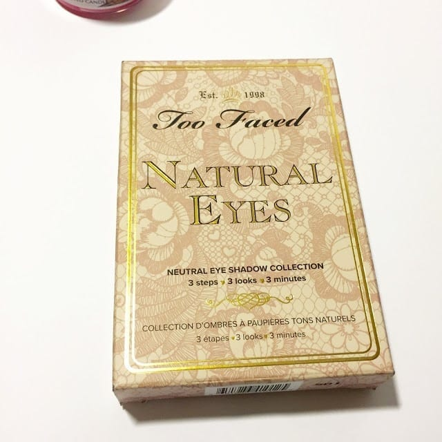 Too Faced Natural Eyeshadow Palette Review
