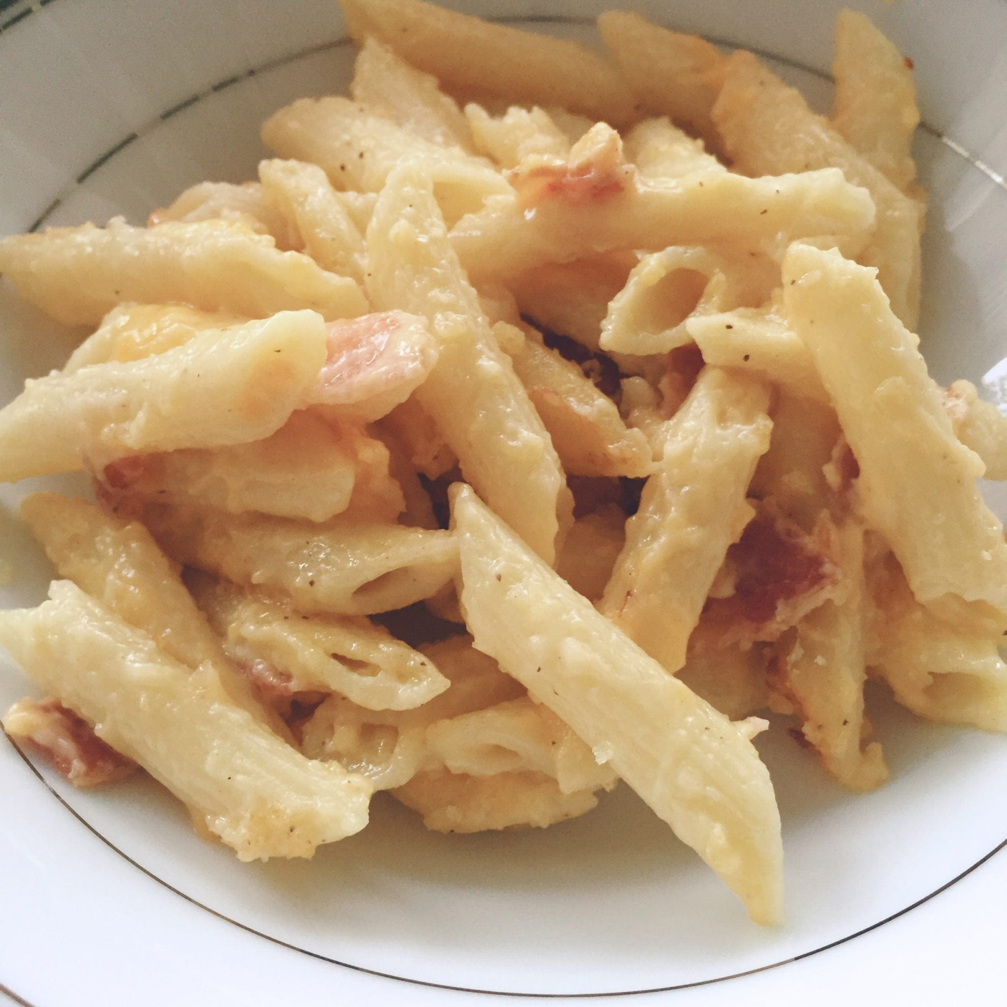 Bacon Mac'n Cheese (Penne Version)