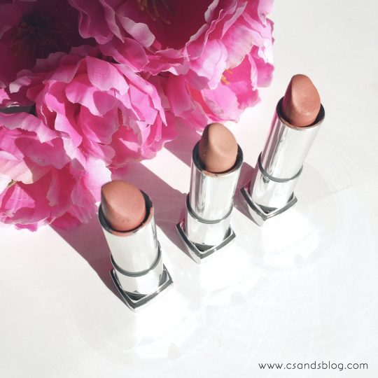 My Go-To Nude Lipsticks