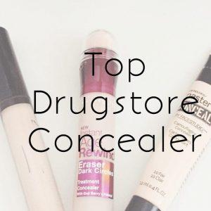 top drugstore concealer