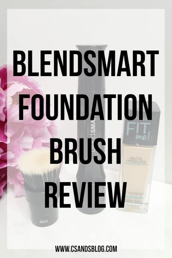blendSMART Foundation brush review