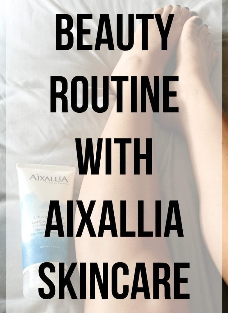 Beauty Routine with Aixallia Skincare