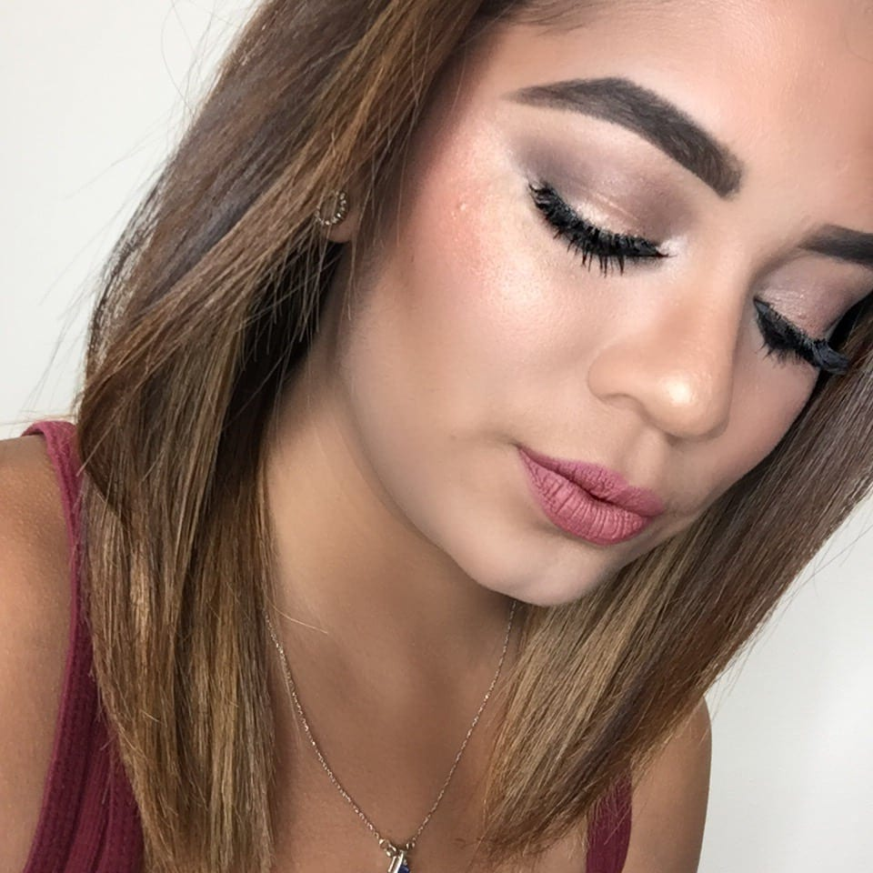 Simple Glam Makeup Look