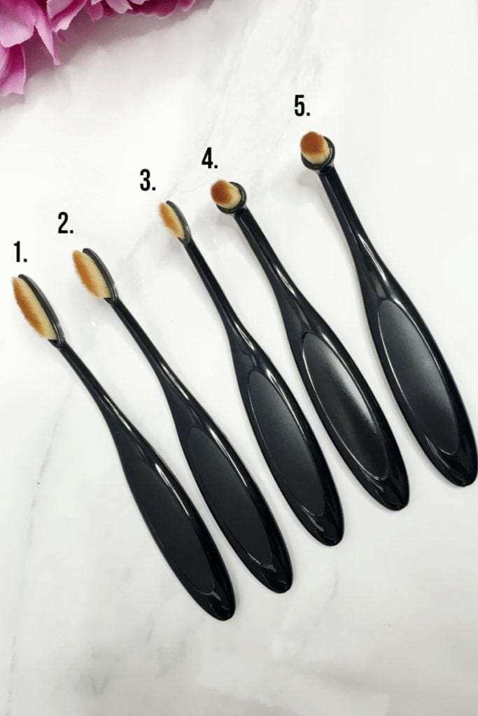 makeup brush set 2