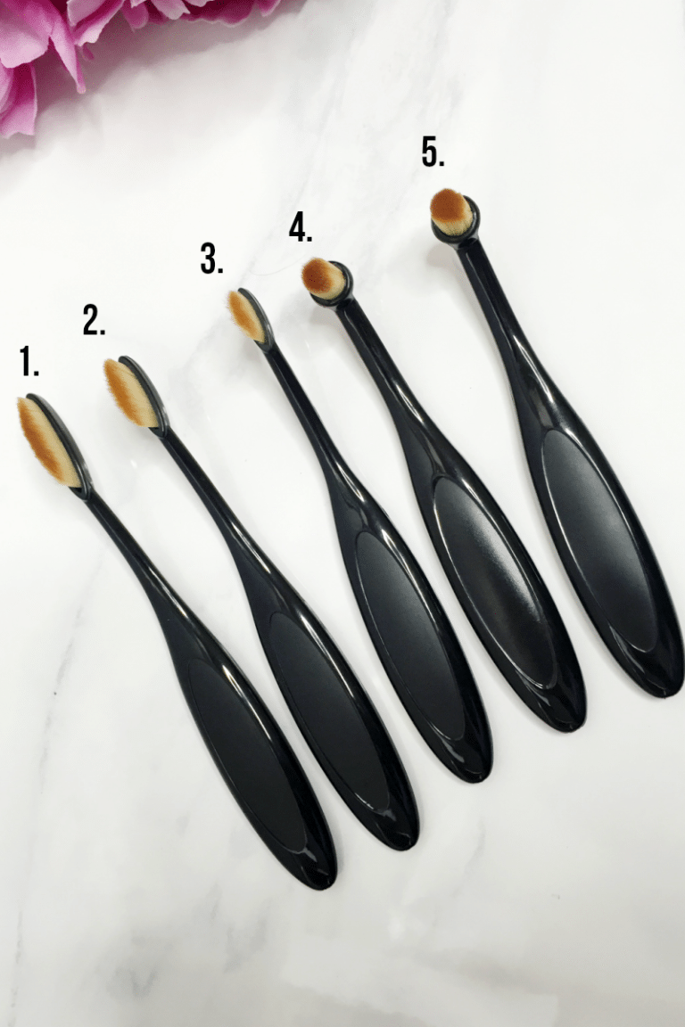 My makeup brush set reviews