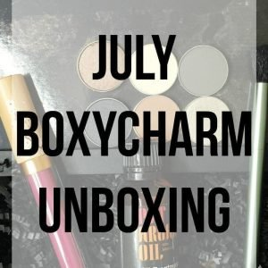 July Boxycharm Unboxing
