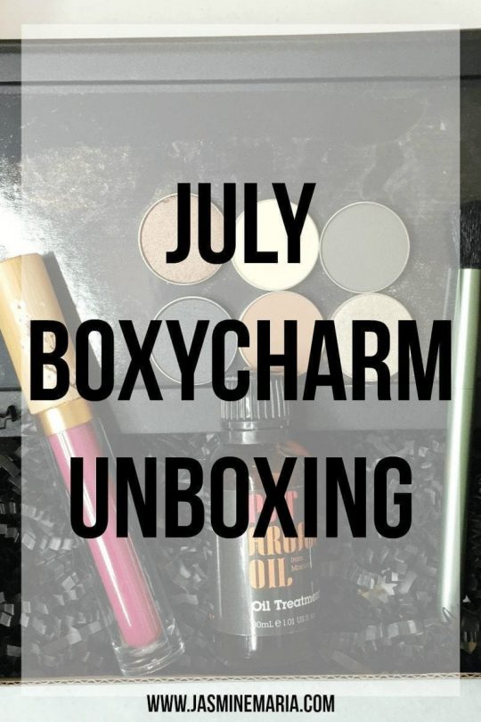 July Boxycharm Unboxing