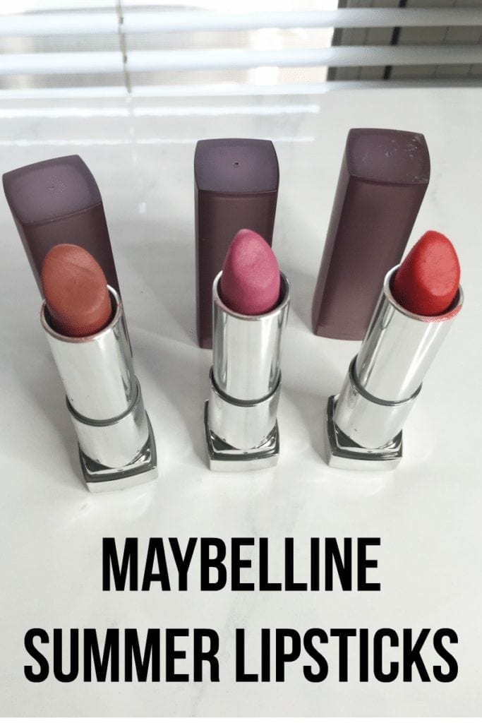 Maybelline Summer Lipsticks