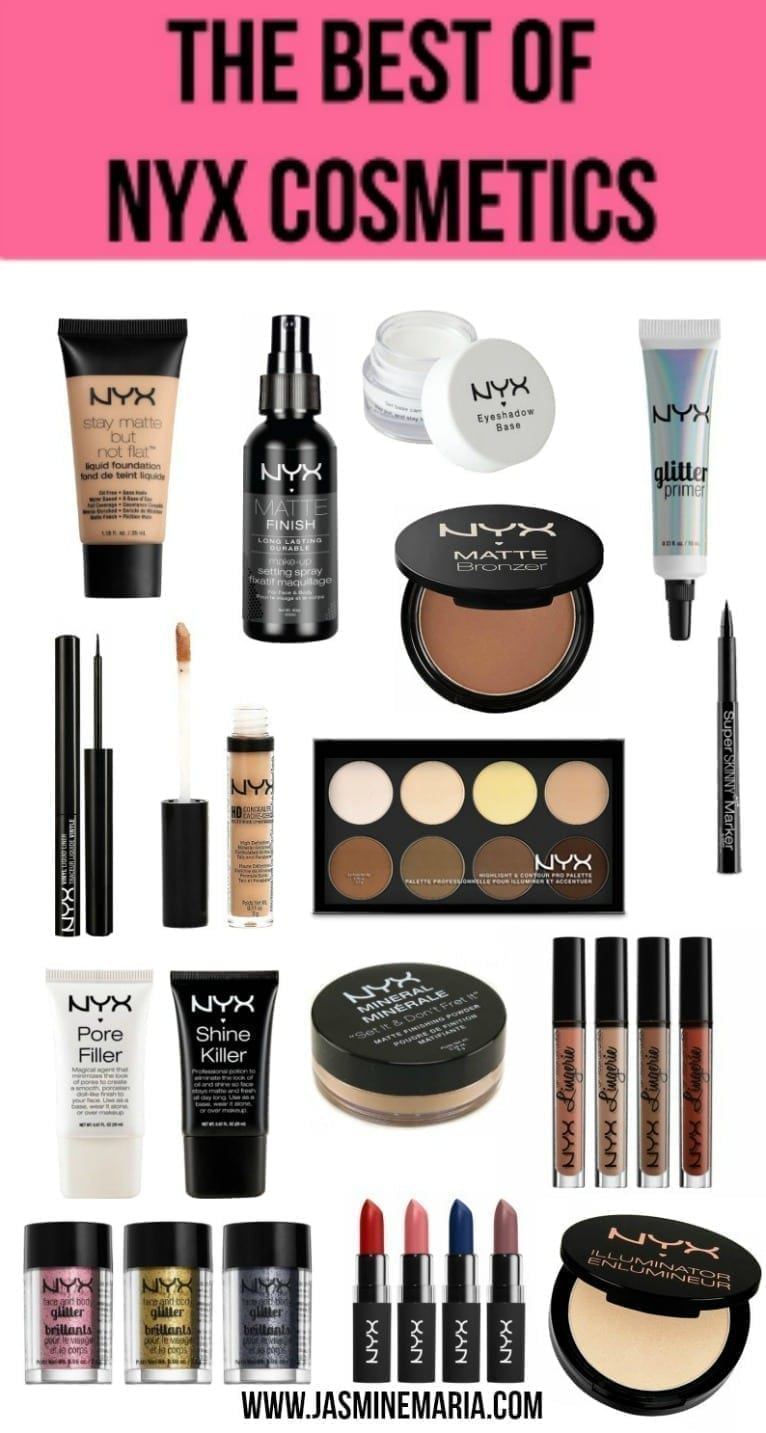 The Best of NYX Cosmetics - Jasmine Maria