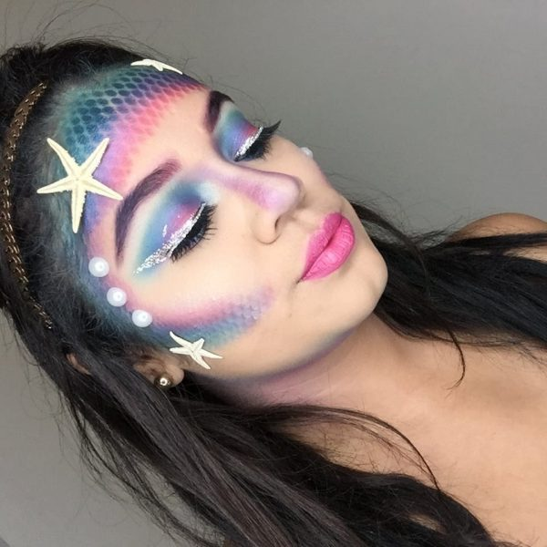Beauty Mix: Mermaid Halloween Look