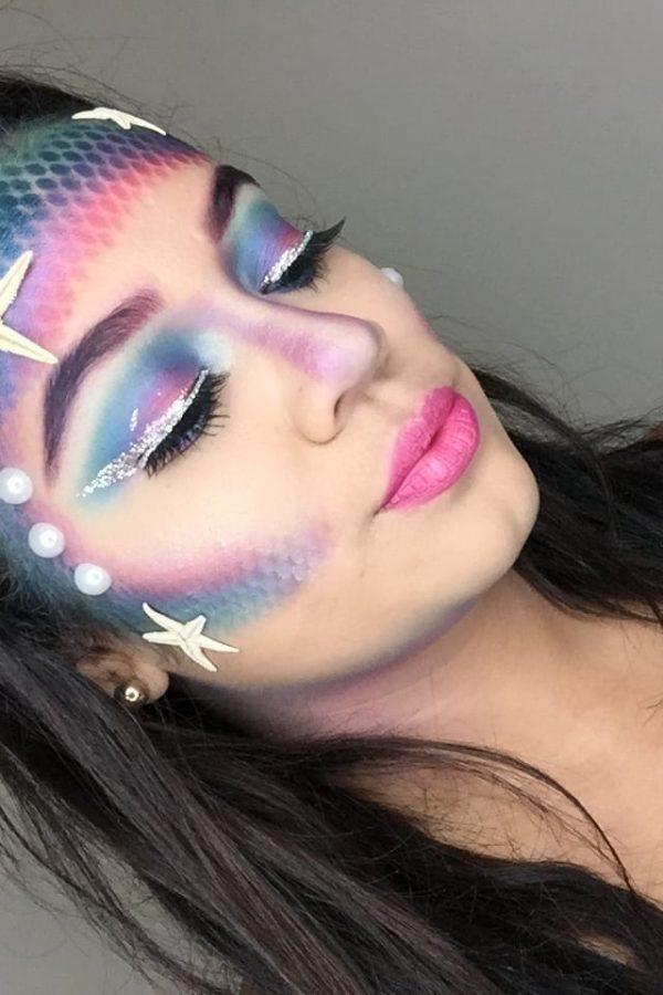 Beauty Mix: Mermaid Halloween Look