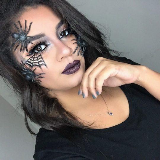 Wicked Spider Web Halloween Look