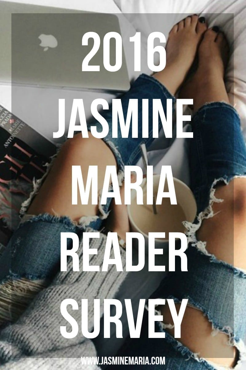 2016 JM Reader Survey