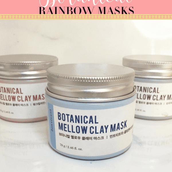 Bonvivant Botanical Rainbow Masks