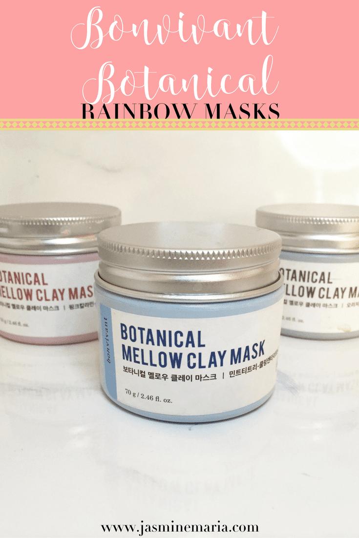 Bonvivant Botanical Rainbow Masks