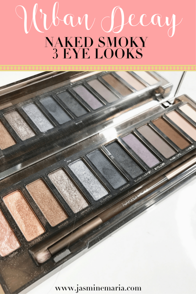3 Looks with Urban Decay Naked Smoky Palette
