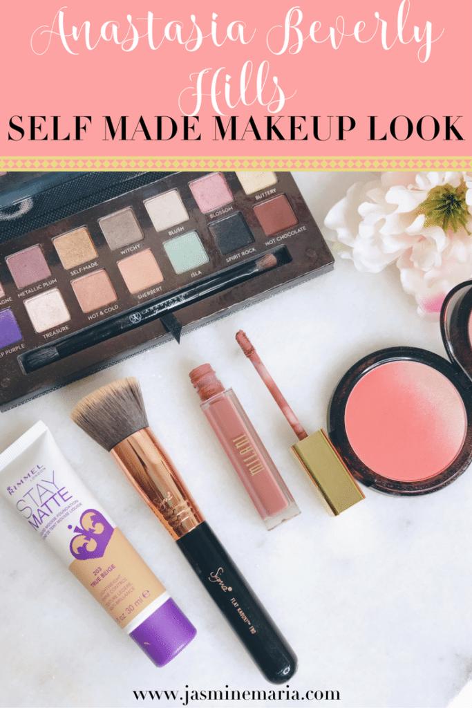 Anastasia Beverly Hills Self Made + Makeup Look