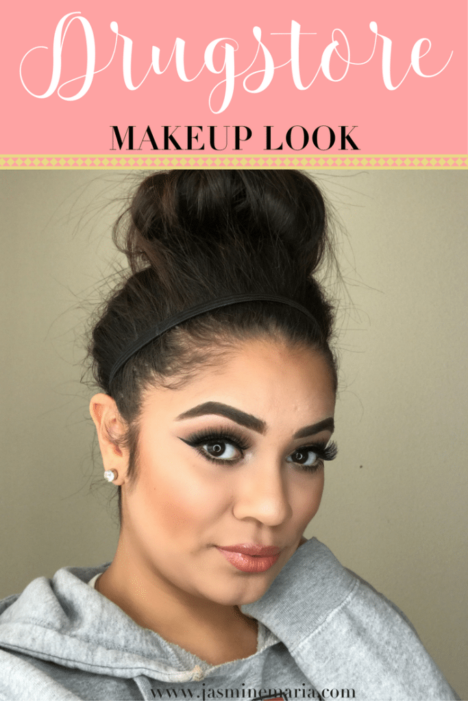 All Drugstore Makeup Look