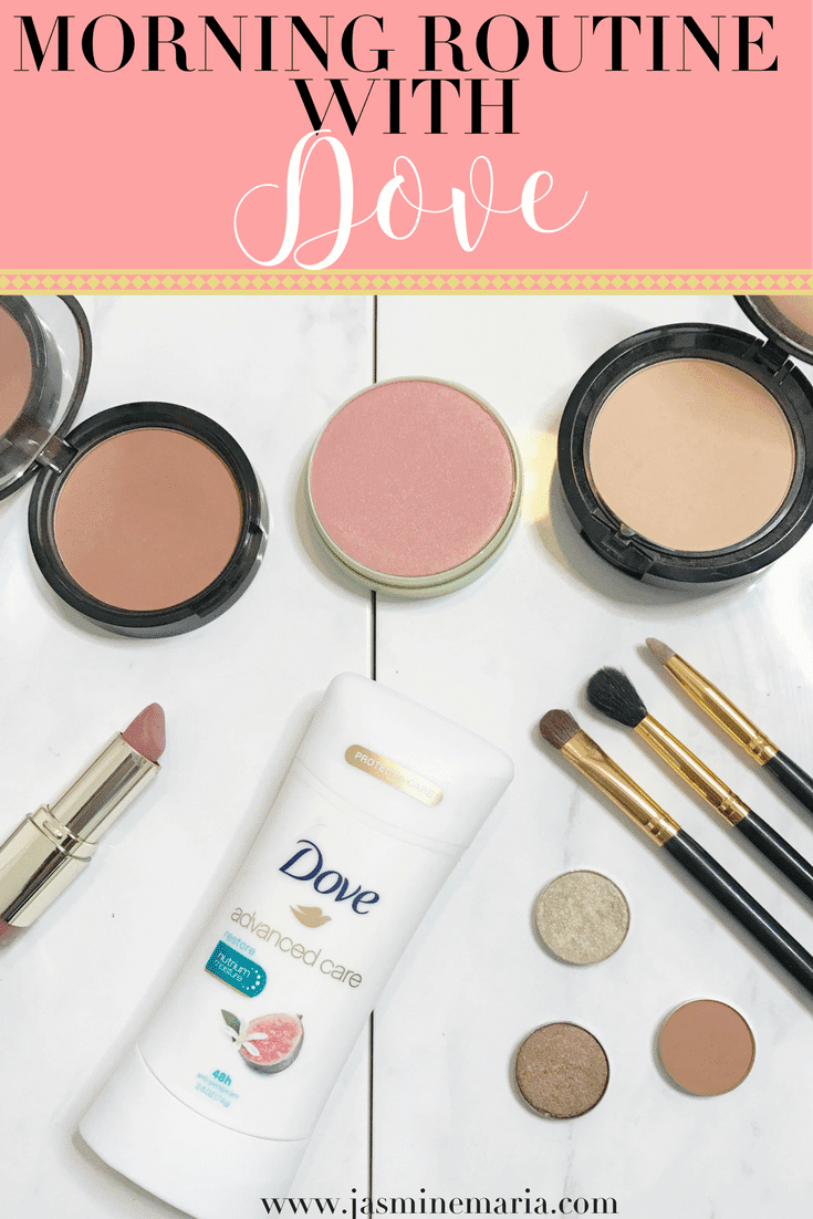 Morning Routine with Dove Advanced Care