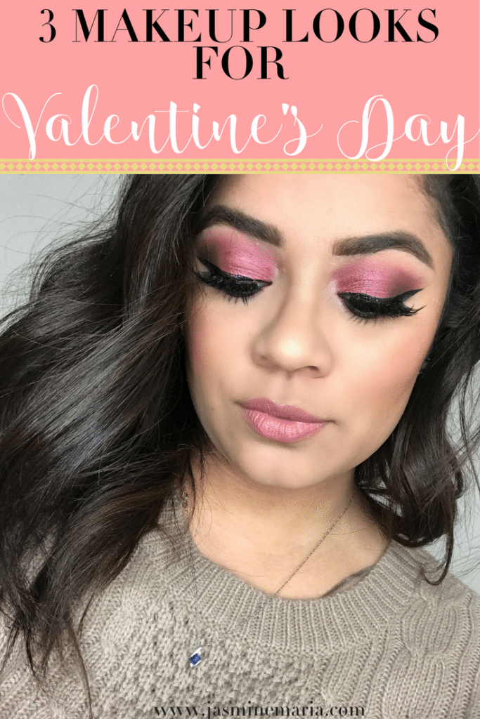 3 Valentine's Day Makeup Looks
