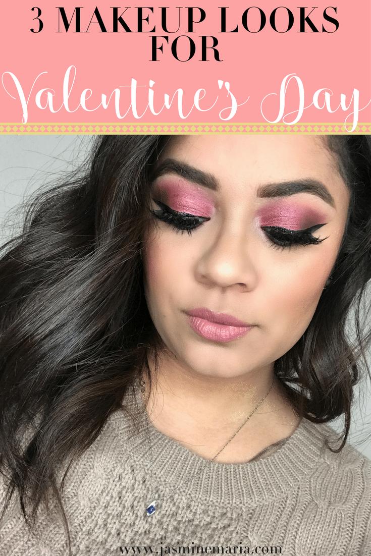 3 Valentine's Day Makeup Looks