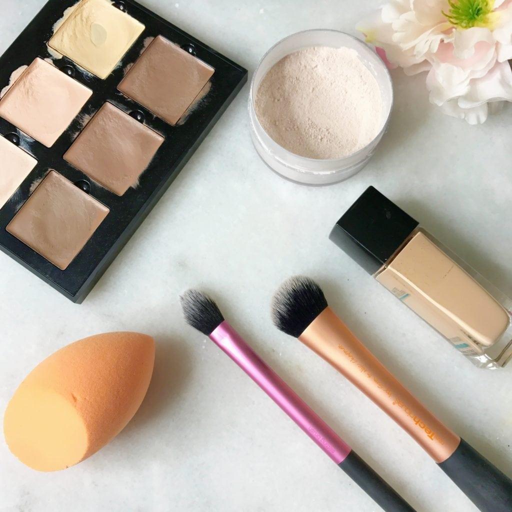 Real Techniques Brushes & Sponge Favorites
