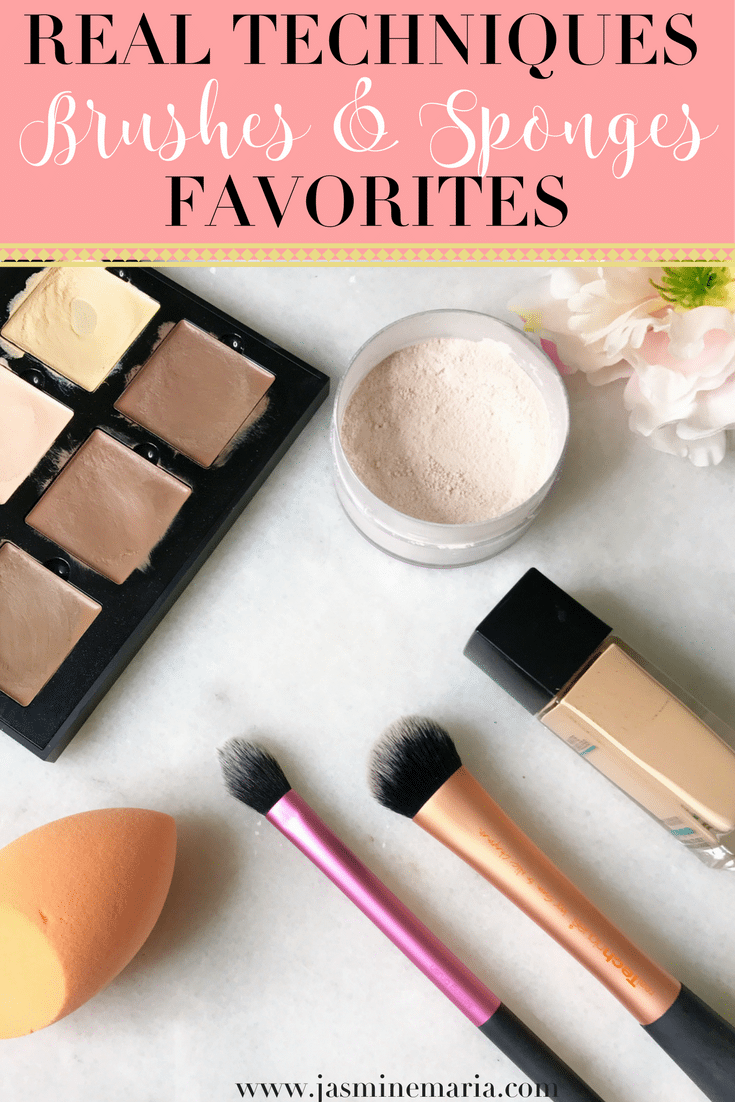 Real Techniques Brushes & Sponge Favorites