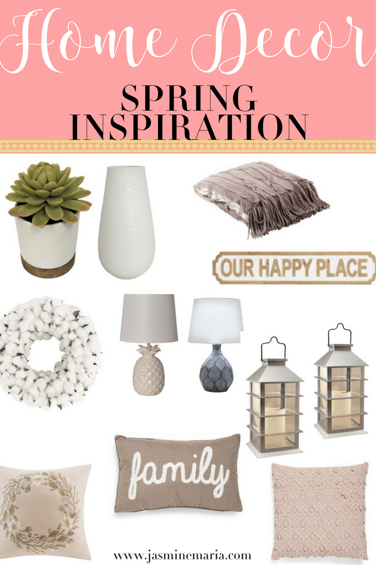 Home Decor: Spring Inspiration