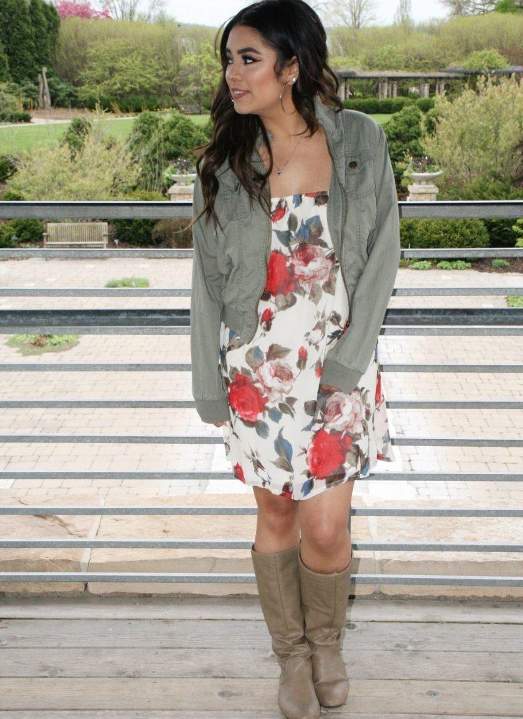Sweet Talk Me Cream Floral Dress + Q&A Part 1