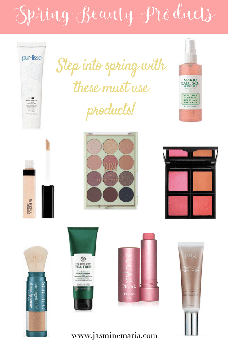 Spring Beauty Products to Use Right Now