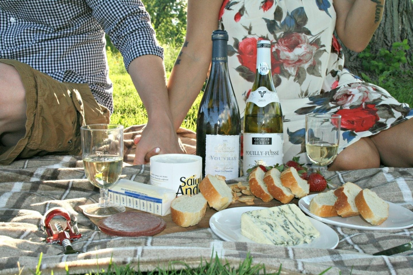 Summer Day Date Picnic