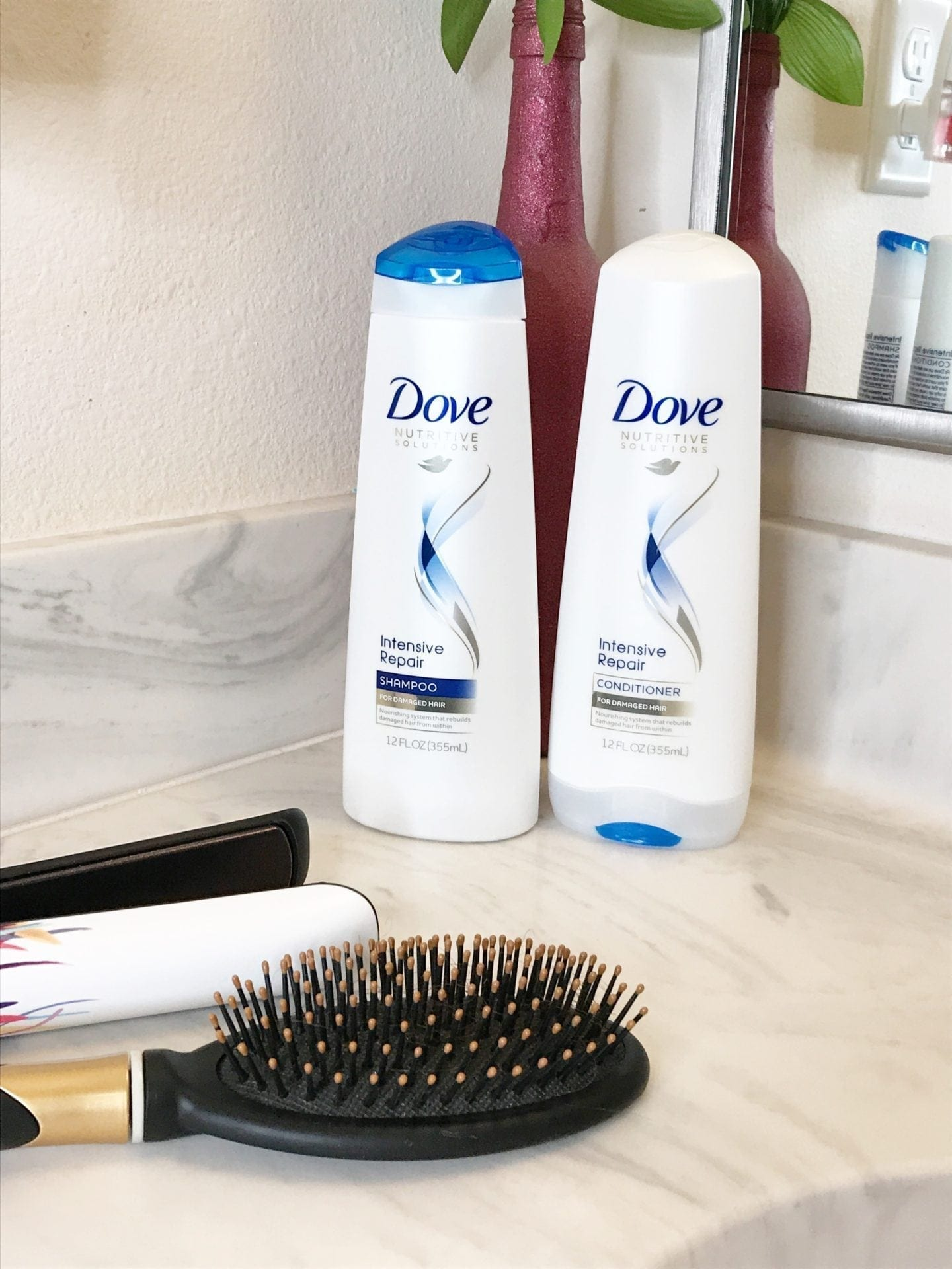 Healthy Summer Hair with Dove