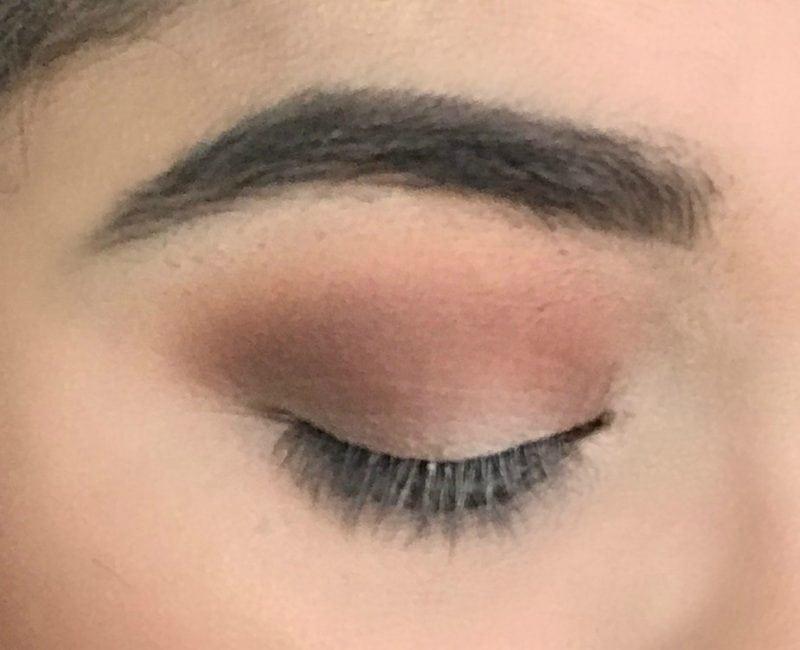 5 Minute Day Time Peachy Eye tutorial