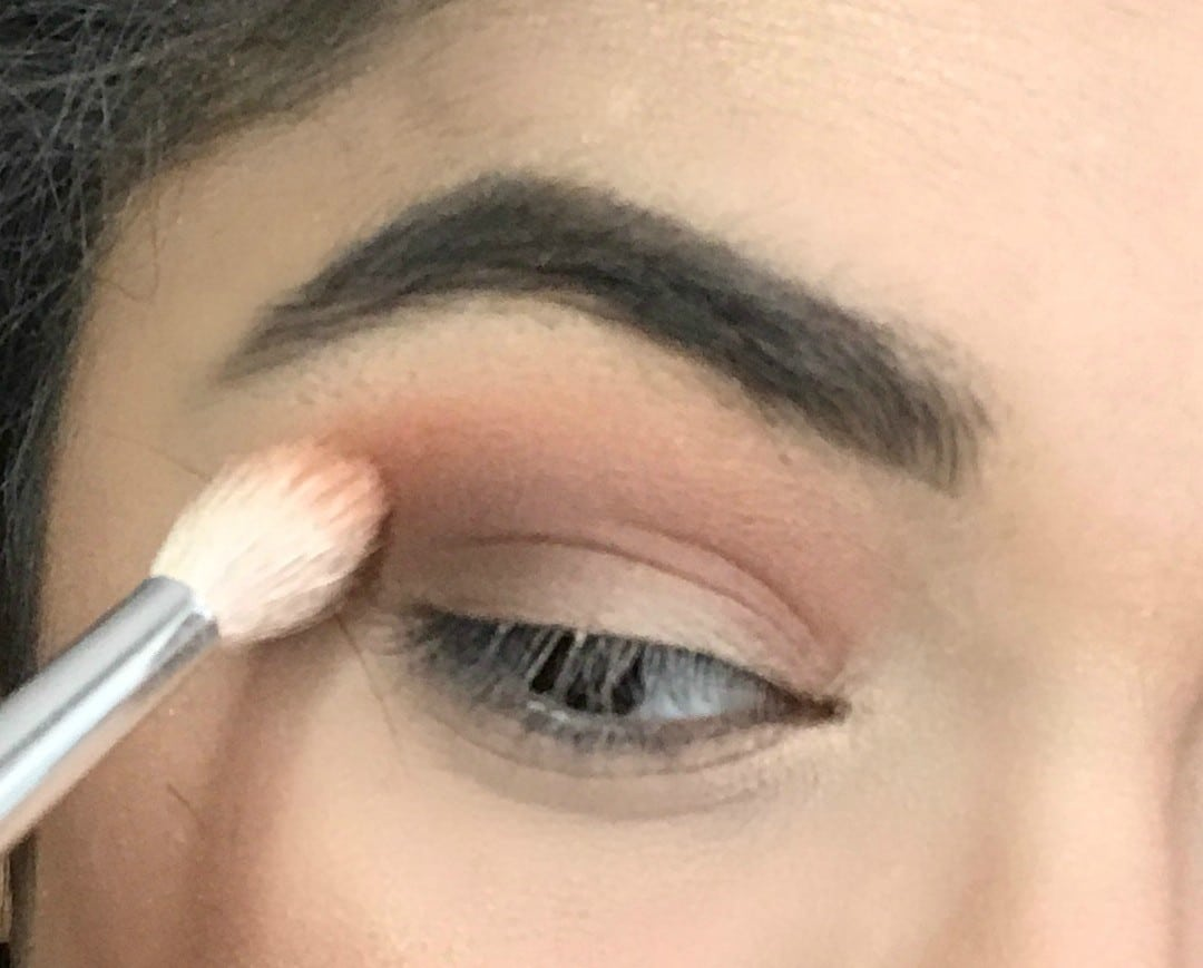 5 Minute Day Time Peachy Eye tutorial