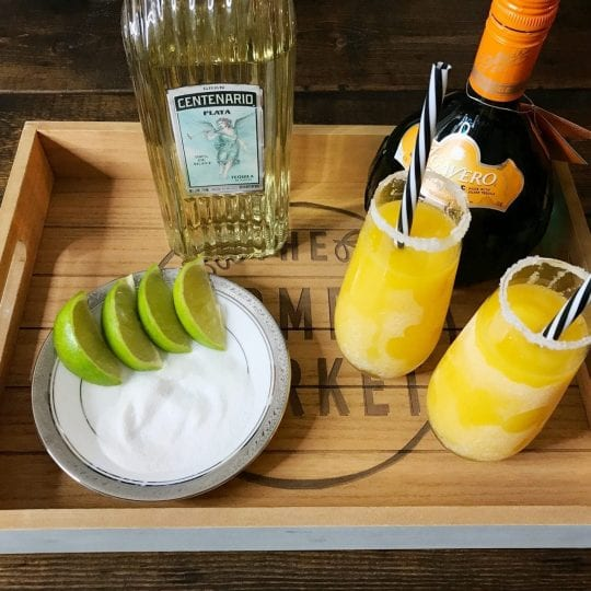 Mango Orange Frozen Margarita