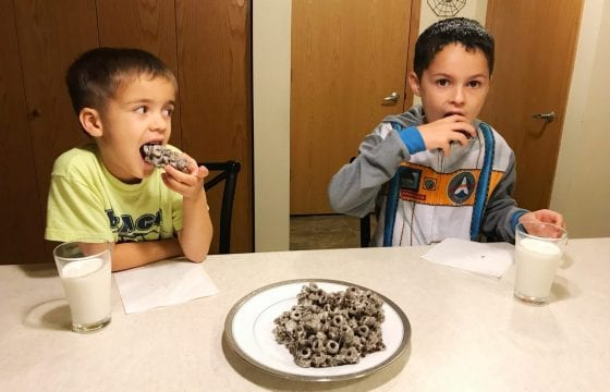 After School Snack with Oreo O's Cereal