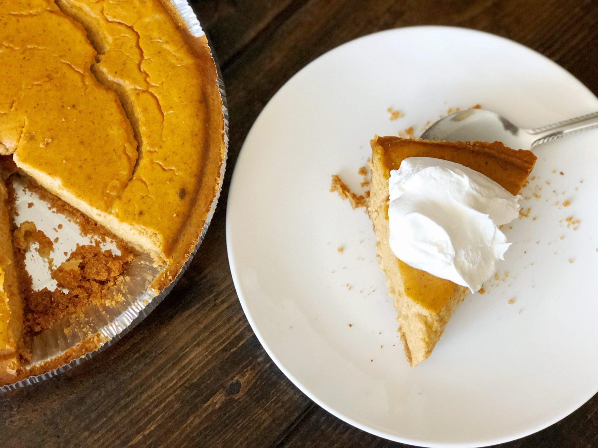 Quick & Easy Pumpkin Pie