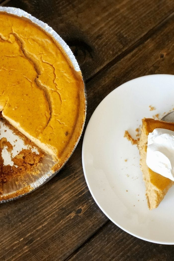 Quick & Easy Pumpkin Pie