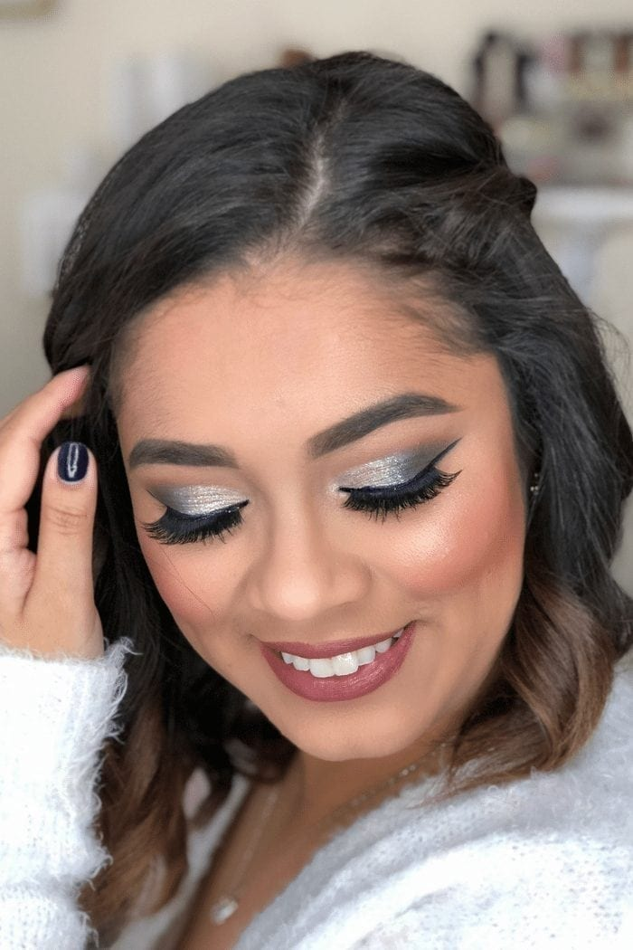 Holiday Beauty   Party Makeup with 2 Lip Options