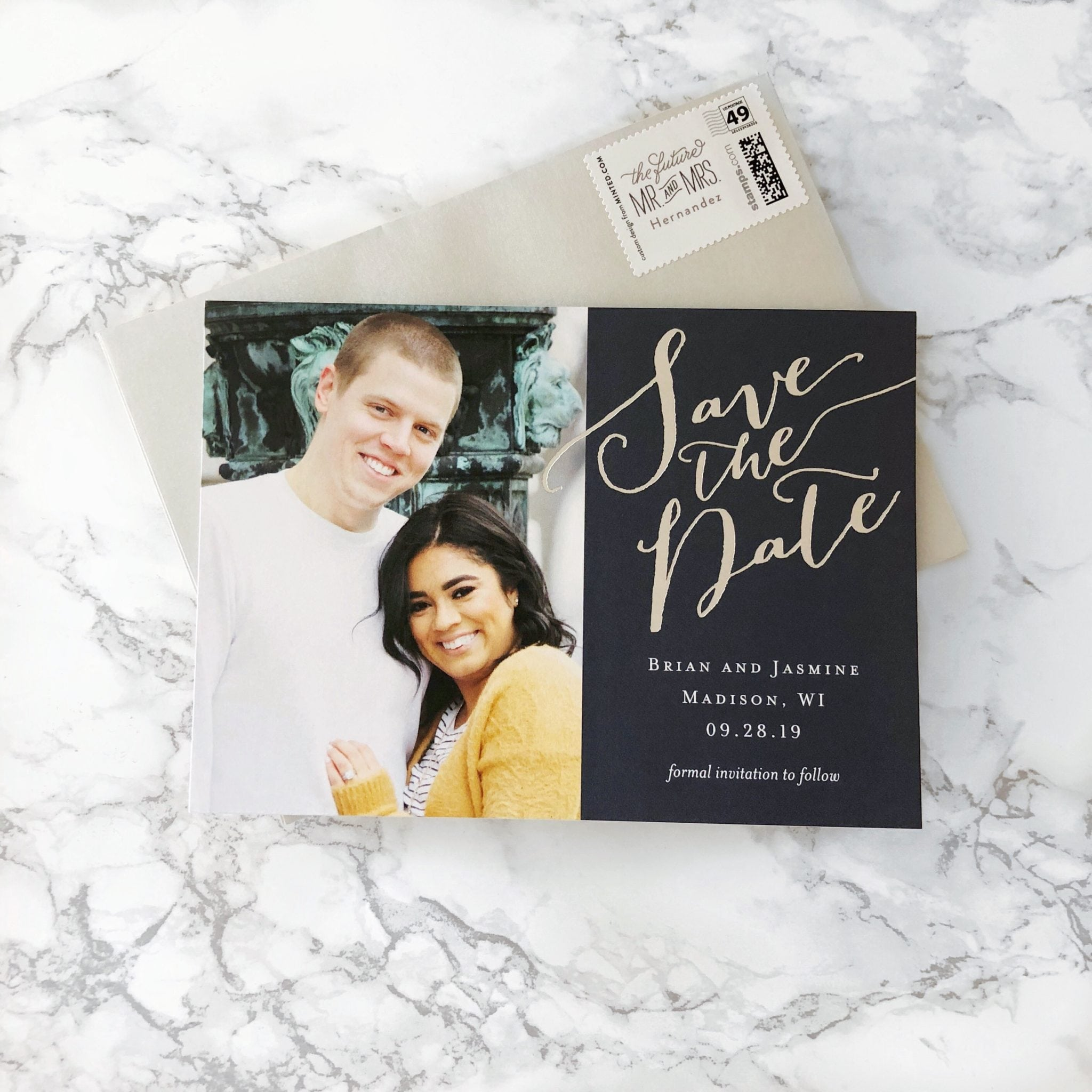 First Look at Our Save the Date Cards