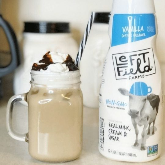 Easy Iced Vanilla Coffee